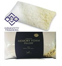Shredded Memory Foam Pillow Side Sleeper Head, Neck Support Orthopedic Pillow