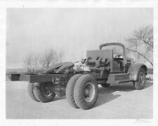 1950 White Truck Cab Chassis Press Photo 0051
