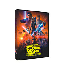 Star Wars: The Clone Wars Season 7 (Dvd, 3-Disc set) Brand New Us