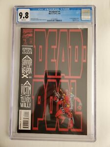 Deadpool: The Circle Chase #1 CGC 9.8! Custom CGC Label! 1993