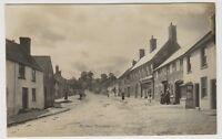 Somerset postcard - Nether Stowey - P/U 1905 (A124)