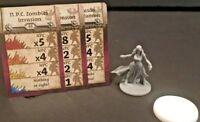 Zombicide Black Plague: Kickstarter Exclusive: NPC Snow White w/card CMoN