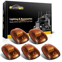 5)Amber Roof Running Cab Marker Lights Yellow 16LED Assembly for Dodge Ram 03-18