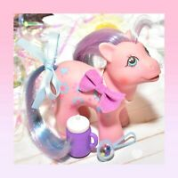 ❤️My Little Pony G1 VTG UK Baby Brother Bright Bouquet Loving Family Bowtie❤️