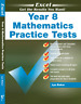 NEW EXCEL - YEAR 8 MATHEMATICS PRACTICE TESTS 9781741256352 Free Shipping