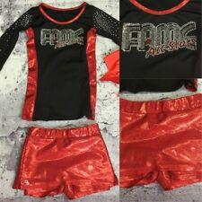 Real Cheerleading Uniform Fame Allstars Youth S