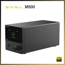 O SMSL M500 ES9038PRO Usb mqa drap DAC Amplificador De Fone De Ouvido Com Controle Remoto