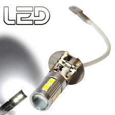 1 ampoules H3 feux jour diurne via Brouillard LED cree Lens Blanc