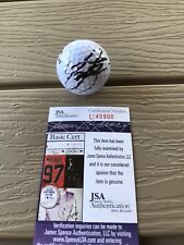 RICKIE FOWLER Signed Autographed Golf Ball PGA Tour Masters Ryder Cup JSA COA 1