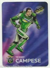 2014 NRL TRADERS ESP 3D GALACTIC STARS TERRY CAMPESE RAIDERS AGS3 ALBUM CARD