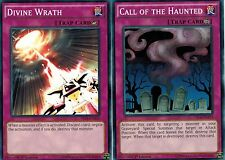 Divine Wrath + Call Haunted YS14-EN12 1st YUGIOh