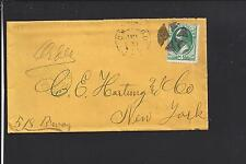 CHICAGO,ILLINOIS 3CT BANKNOTE FANCY CL, COOK CO. /OP.HARTUNG & CO. RECEIVING.