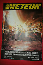 METEOR 1979 NATALIE WOOD SEAN CONNERY KARL MALDEN BRIAN KEITH EXYU MOVIE POSTER