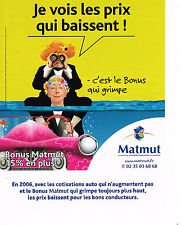 PUBLICITE ADVERTISING 104  2005  MATMUT  assurances CHEVALIER & LASPALES 2