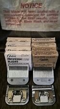 Lot of 7 Vintage Oster Cutting Assemblies No 50 Size 1 and 1A Unitary