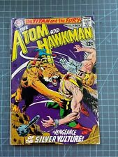 DC THE ATOM AND HAWKMAN #39 1ST COMBINED ISSUE 1968