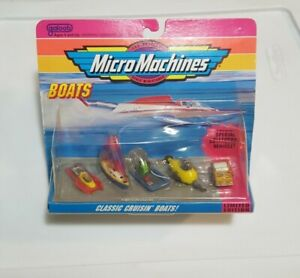 Vintage Micro Machines Boats Classic Cruisin Boats Collection #3