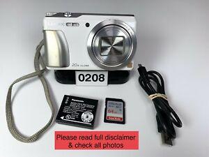 Panasonic LUMIX DMC-ZS35 16.0MP 64GB WiFi Digital Camera Very Good Condition.