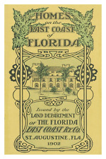 East Coast Florida Homes 1902 - 12 x 18