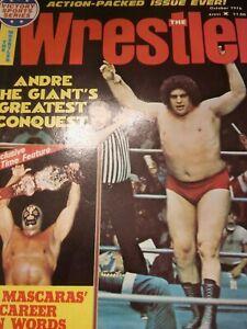 EXC WRESTLER Wrestling Magazine WWWF NWA 1976 AWA Orton Andre Giant Lawler Fuji