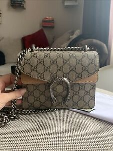 GUCCI DIONYSUS GG Supreme Mini SHOULDER BAG / Last CollectionCanvas