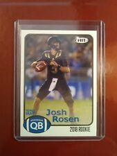 2018 Sage HIT Josh Rosen UCLA card #3 Perfect and it's Pack Fresh