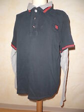 Polo style rugby OKAIDI  Taille 14 ans