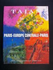 PARIS-EUROPE CENTRALE-PARIS - ESPACE TAJAN PARIS 2004 - ZADKINE - LARIONOV ...
