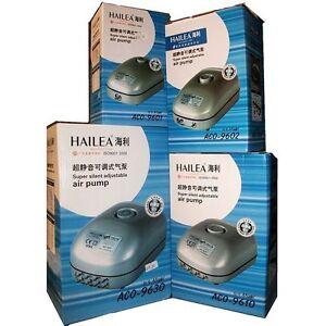 Hailea Super Silent Adjustable Air Water Quiet Pump Low Power Consumption Grow
