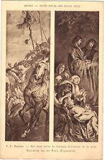Art - Musée de Bruxelles - Triptyque - L'érection de la croix par P.P. RUBENS