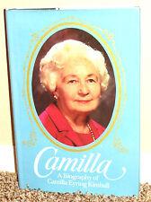 Camilla A Biography of Camilla Eyring Kimball by Miner & Kimball 1980 1ED Mormon