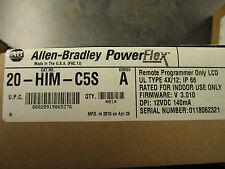 NEW ALLEN BRADLEY 20-HIM-C5S POWERFLEX REMOTE HIM