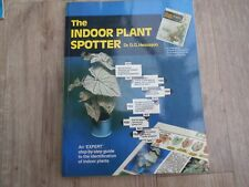 The Indoor Plant Spotter Dr D.G. Hessayon  PB VGC -Unused