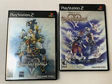 Kingdom Hearts Playstation 2 Games. Complete