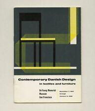 1957 Hans Wegner DANISH Textile + Furniture DESIGN Nanna & Jørgen Ditzel Exhibit