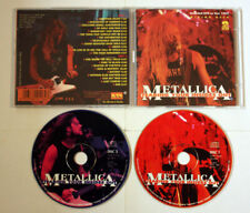METALLICA Tearing Your Insides Out RARE DOUBLE LIVE CD