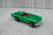 Hot Wheels Redline Classic '57 T-Bird Green Dark Interior, Vintage collectible