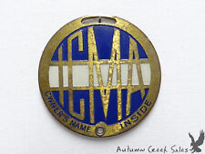 Icma Insurance Identification Watch Fob Il Comml. Mens Assn. In Case of Accident
