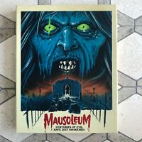 Mausoleum Vinegar Syndrome Blu / DVD Combo Limited Slipcover - OOP