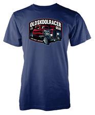 Old Skool Racer Hotrod Gear Life Fast Die Old Custom Car Adult T Shirt