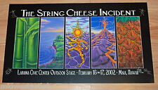 A String Cheese Incident Poster Maui Hawaii Art Print 2002 S/# 750 AOMR 223.3