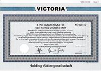 Victoria Holding AG Berlin hist. DM Aktie 1992 Ergo Versicherung Düsseldorf NRW