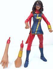 Ms MARVEL Kamala Khan Marvel Legends COMPLETE~Sandman Series Hasbro