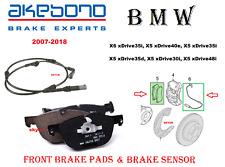 Akebono Euro Ceramic Brake Pads And Bowa Sensors USA MADE AK96102 FRONT+REAR