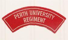 Australian Army Shoulder Flash - Perth University Regiment (w/border)
