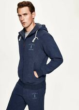 Hackett Mens Hoodie, Navy, Size Small, RRP £130