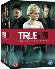 True Blood The Complete Series Seasons 1,2,3,4,5,6,7 DVD Set Brand New US Seller
