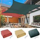 18' x18' Deluxe Square Sun Shade Sail Pool Shade Cool Top Outdoor Canopy Patio