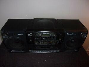 PANASONIC RX-DT600 AM/FM/CASSETTE.CD BOOMBOX
