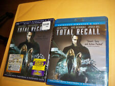 Total Recall Blu-ray Disc ONLY, 2012 in original case and sleeve Preowned